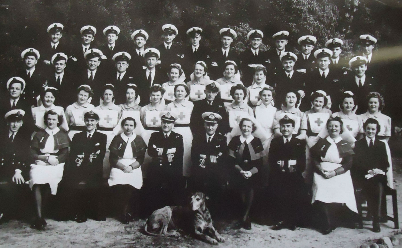 Wartime Staff Royal Naval Hospital